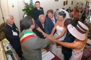 Religious wedding in Italy